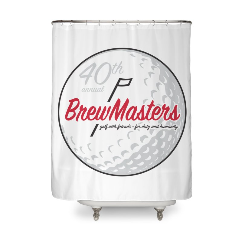 Brewmasters_Golf_40th Home Shower Curtain by Brian Harms