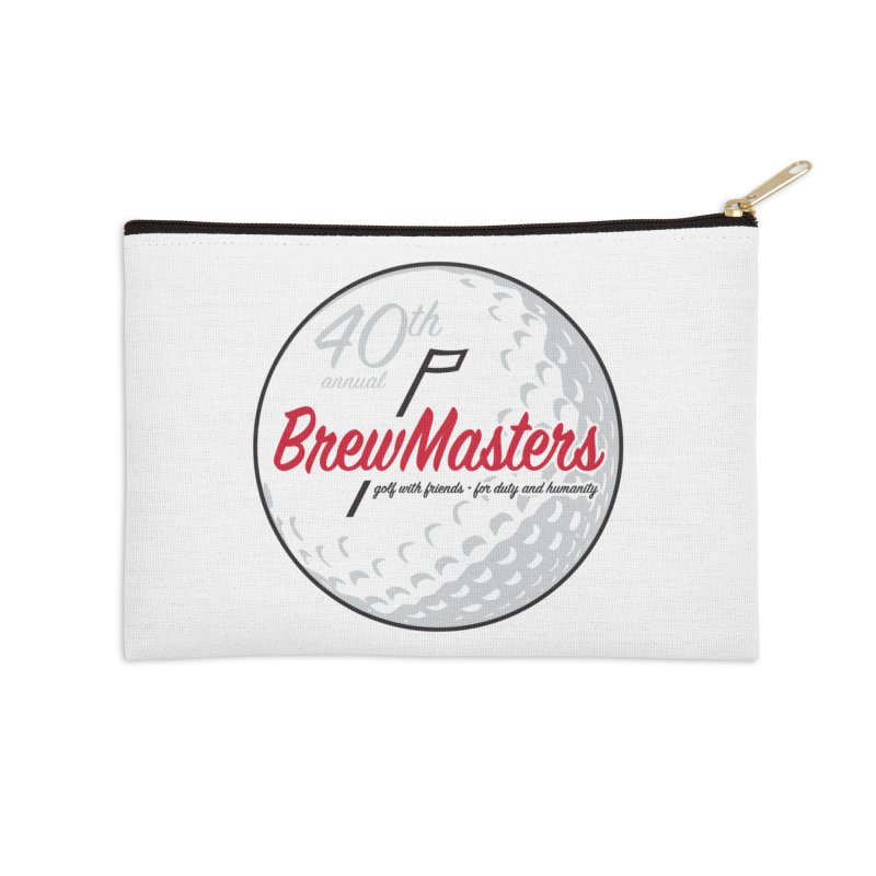 Brewmasters_Golf_40th Accessories Zip Pouch by Brian Harms