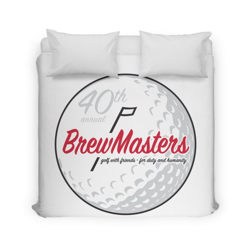 Brewmasters_Golf_40th Home Duvet by Brian Harms