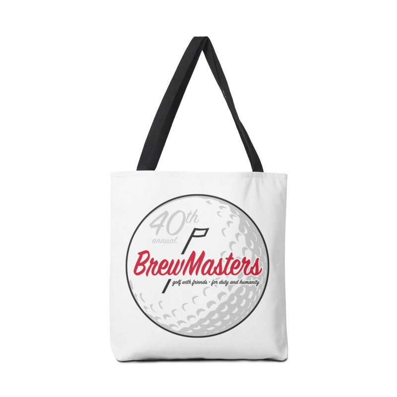 Brewmasters_Golf_40th Accessories Tote Bag Bag by Brian Harms