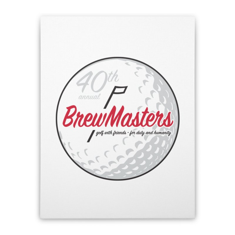 Brewmasters_Golf_40th Home Stretched Canvas by Brian Harms