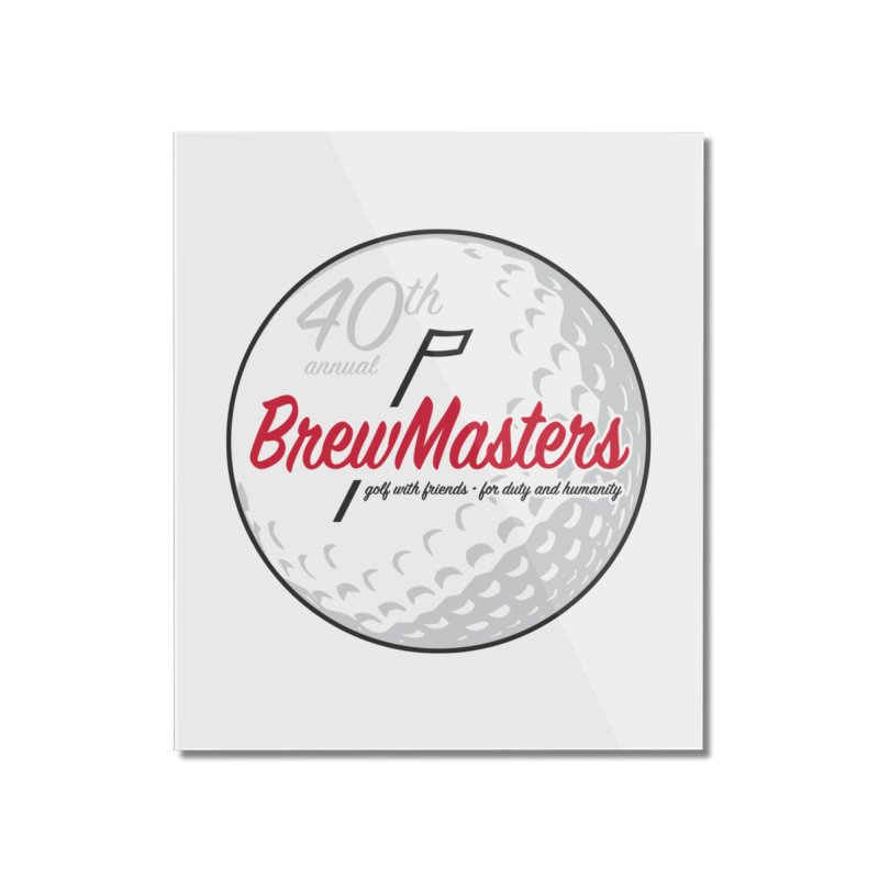 Brewmasters_Golf_40th Home Mounted Acrylic Print by Brian Harms