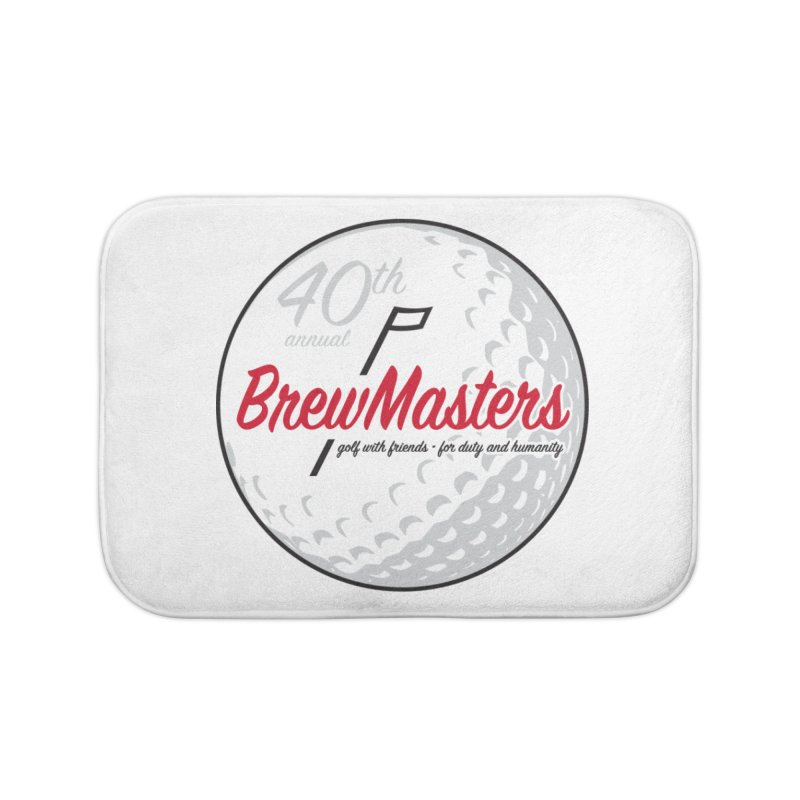 Brewmasters_Golf_40th Home Bath Mat by Brian Harms