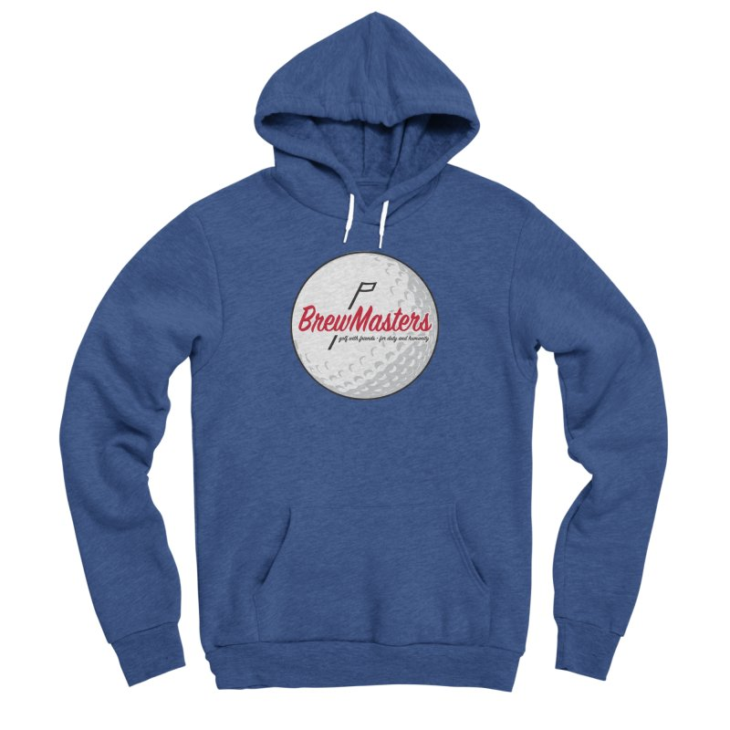 Brewmasters_Golf_2 Men's Sponge Fleece Pullover Hoody by Brian Harms