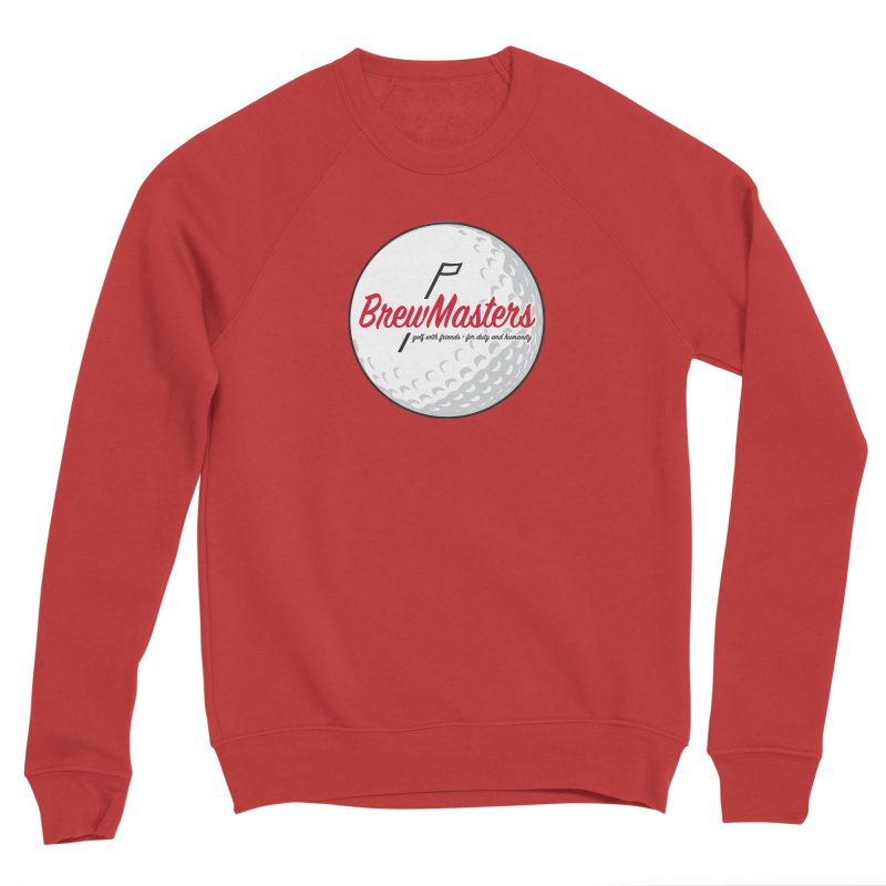 Brewmasters_Golf_2 Women's Sponge Fleece Sweatshirt by Brian Harms