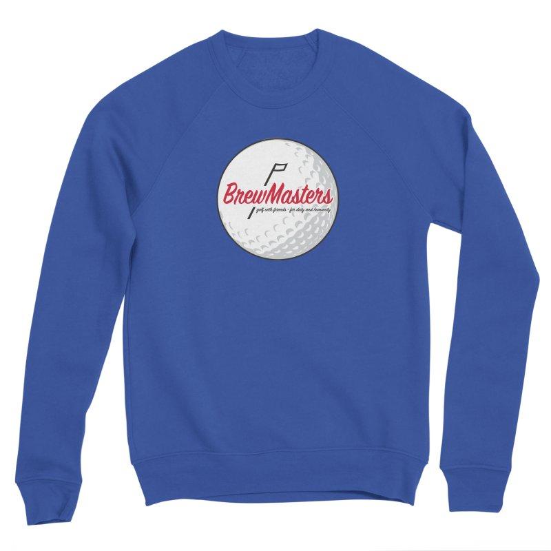 Brewmasters_Golf_2 Men's Sponge Fleece Sweatshirt by Brian Harms