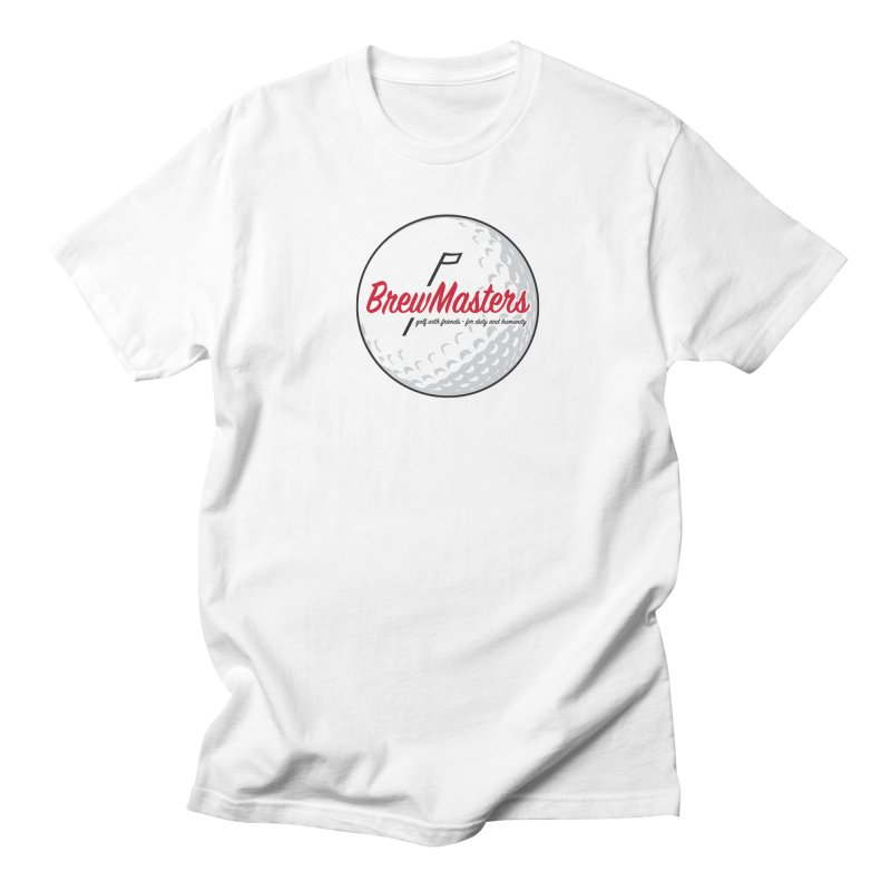 Brewmasters_Golf_2 in Men's Regular T-Shirt White by Brian Harms