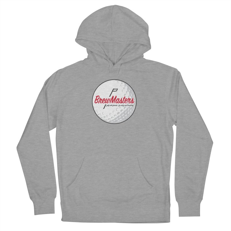 Brewmasters_Golf_2 Men's French Terry Pullover Hoody by Brian Harms