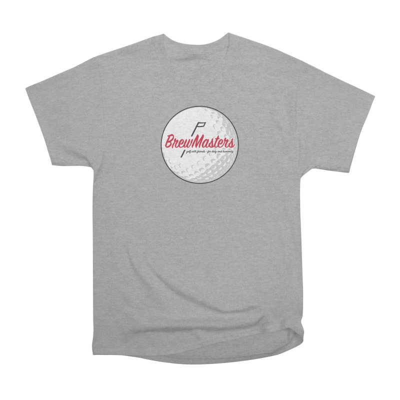 Brewmasters_Golf_2 Men's Heavyweight T-Shirt by Brian Harms