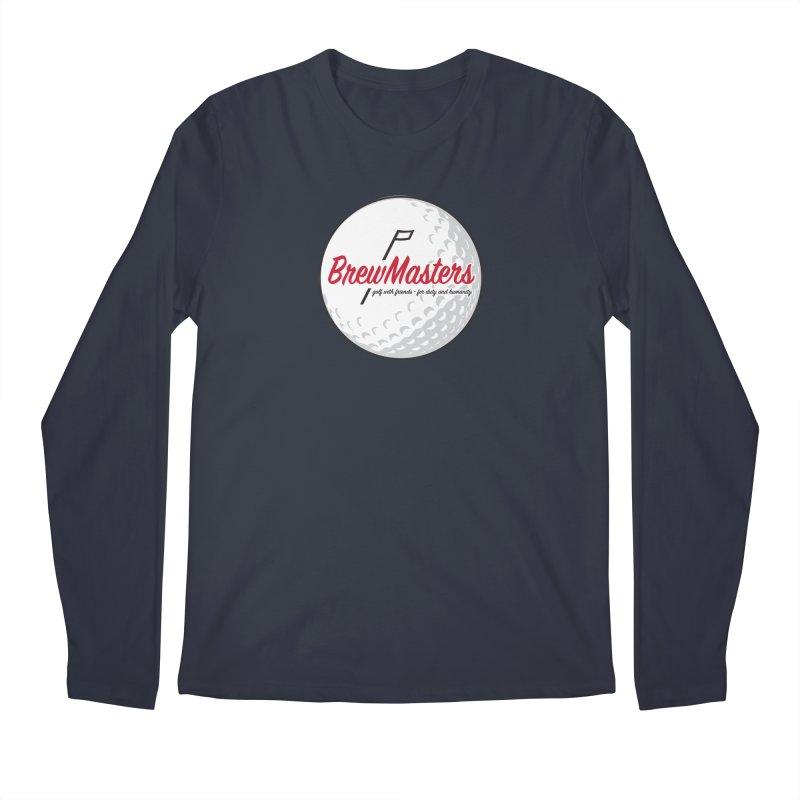 Brewmasters_Golf_2 Men's Regular Longsleeve T-Shirt by Brian Harms