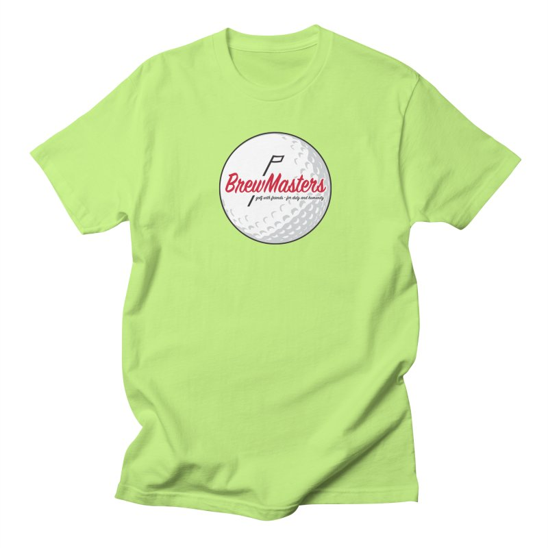 Brewmasters_Golf_2 Men's Regular T-Shirt by Brian Harms