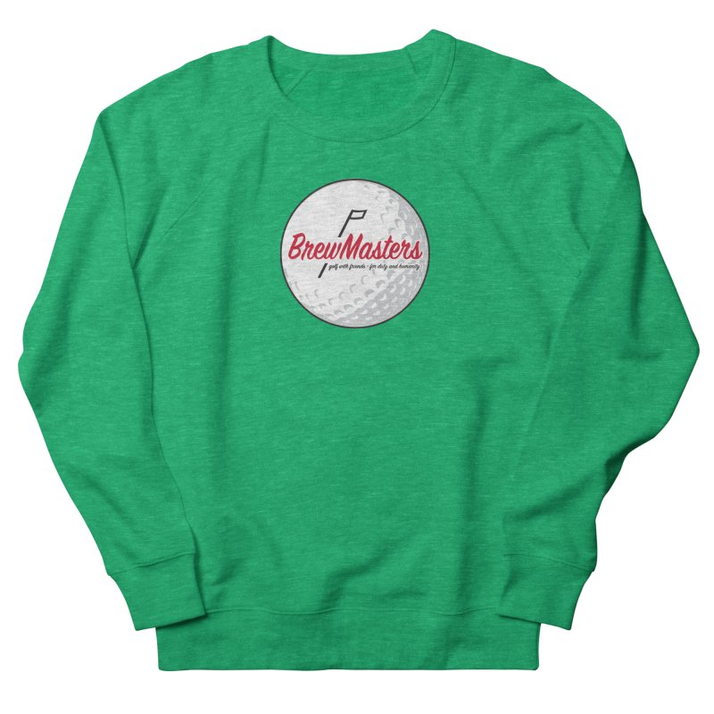 Brewmasters_Golf_2 Women's French Terry Sweatshirt by Brian Harms