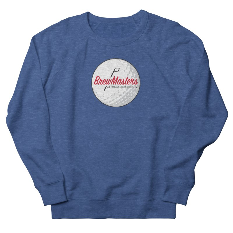 Brewmasters_Golf_2 Men's French Terry Sweatshirt by Brian Harms