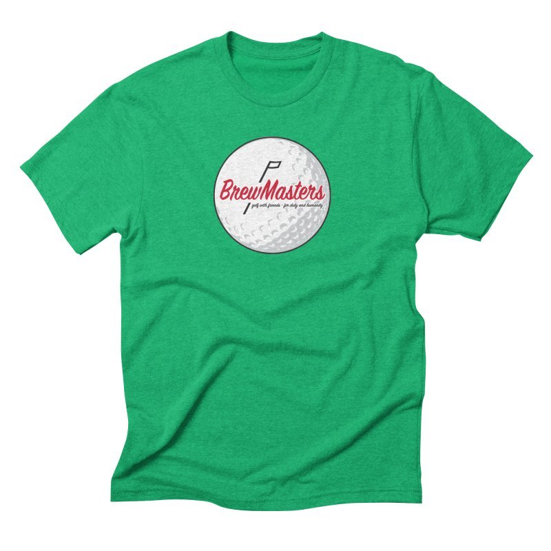 Brewmasters_Golf_2 Men's Triblend T-Shirt by Brian Harms