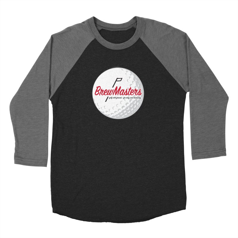 Brewmasters_Golf_2 Men's Baseball Triblend Longsleeve T-Shirt by Brian Harms