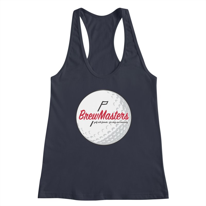Brewmasters_Golf_2 Women's Racerback Tank by Brian Harms