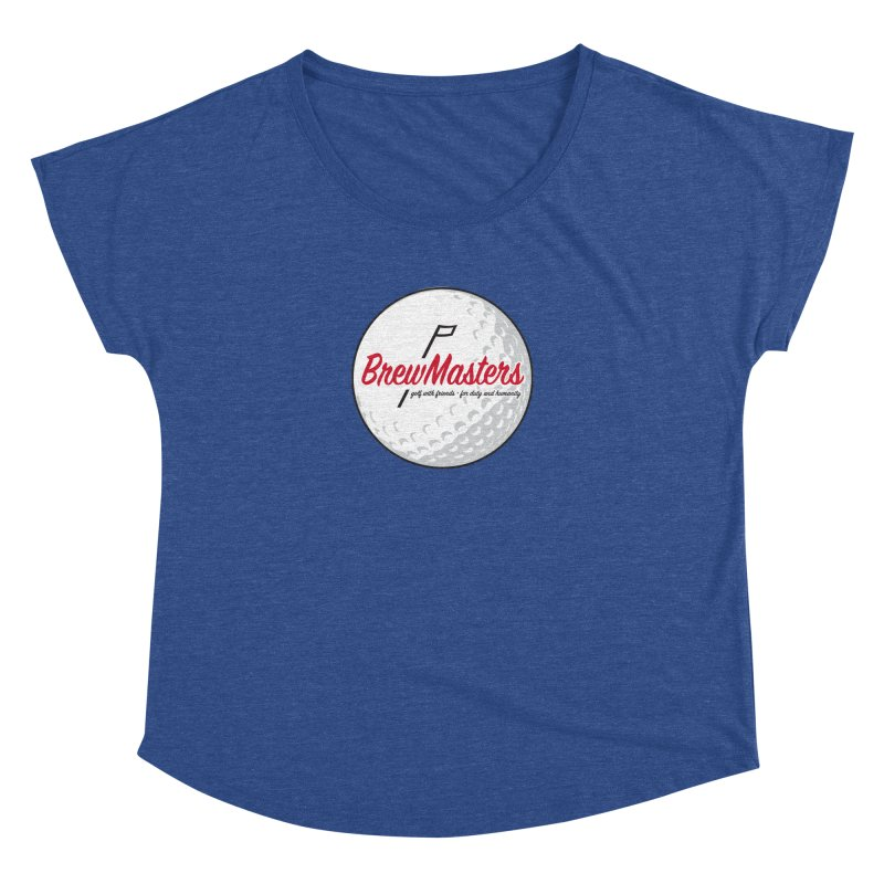 Brewmasters_Golf_2 Women's Dolman Scoop Neck by Brian Harms