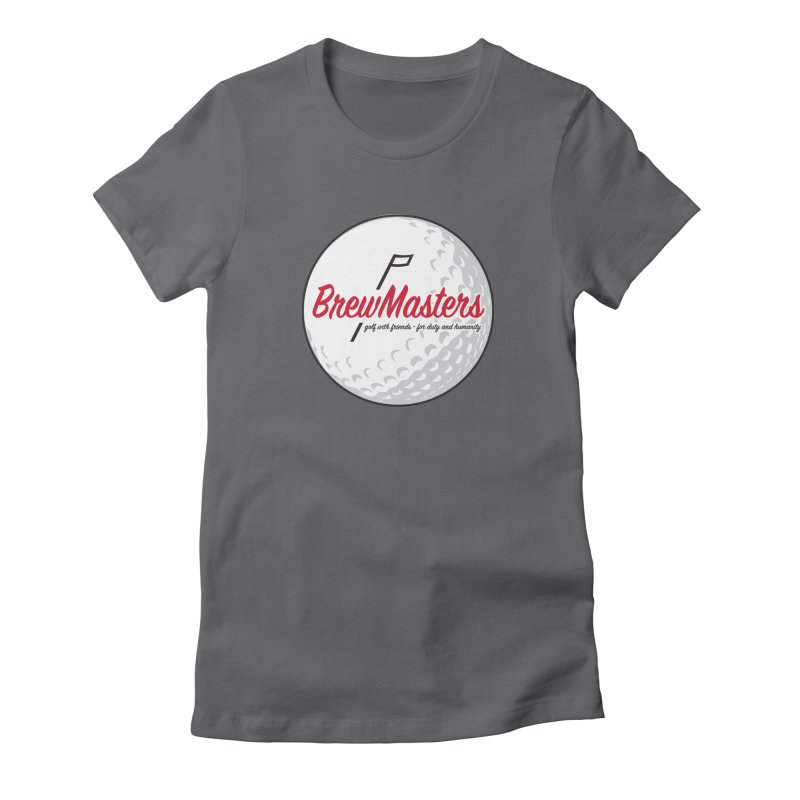 Brewmasters_Golf_2 Women's Fitted T-Shirt by Brian Harms