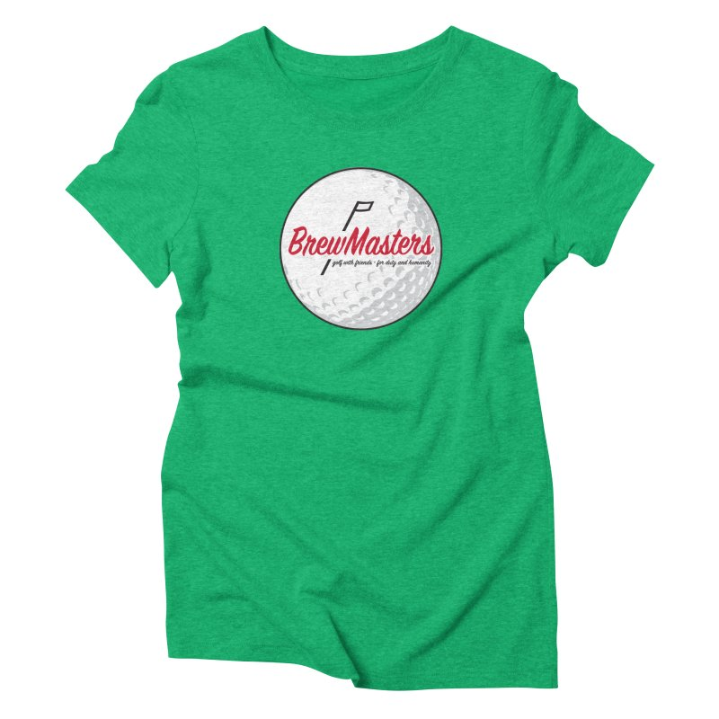 Brewmasters_Golf_2 Women's Triblend T-Shirt by Brian Harms