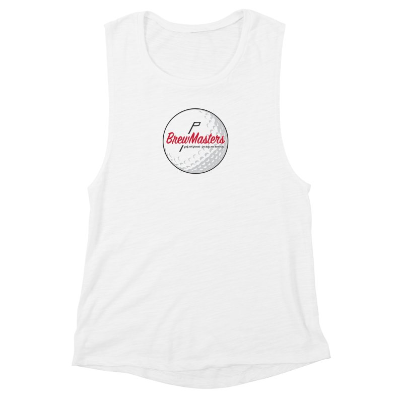 Brewmasters_Golf_2 Women's Muscle Tank by Brian Harms
