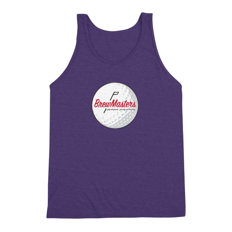 Brewmasters_Golf_2 Men's Triblend Tank by Brian Harms