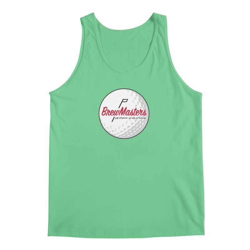 Brewmasters_Golf_2 Men's Regular Tank by Brian Harms