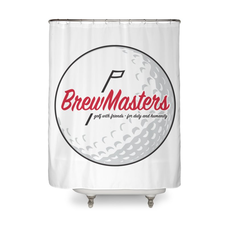 Brewmasters_Golf_2 Home Shower Curtain by Brian Harms