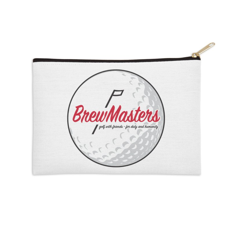 Brewmasters_Golf_2 Accessories Zip Pouch by Brian Harms