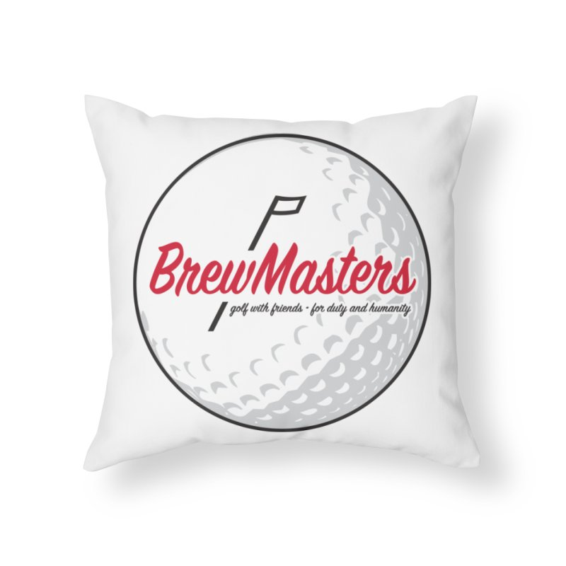 Brewmasters_Golf_2 Home Throw Pillow by Brian Harms