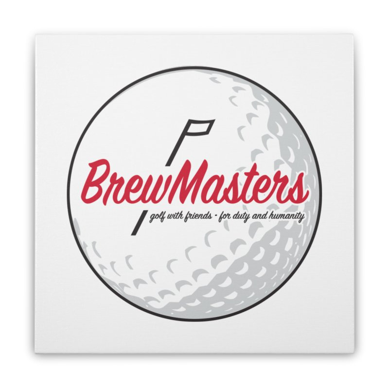 Brewmasters_Golf_2 Home Stretched Canvas by Brian Harms
