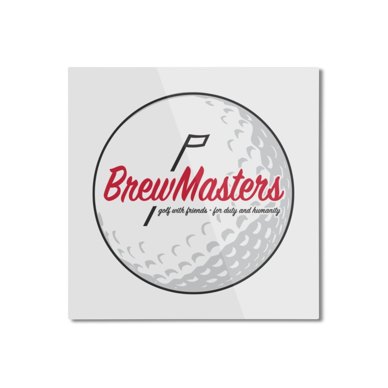 Brewmasters_Golf_2 Home Mounted Aluminum Print by Brian Harms