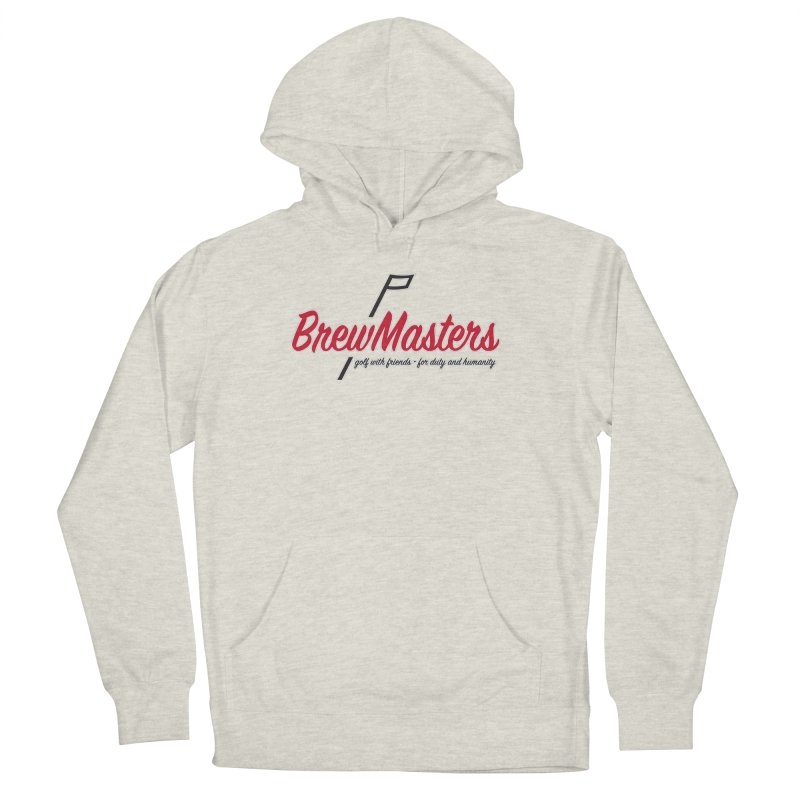 Brewmasters_Golf Women's French Terry Pullover Hoody by Brian Harms