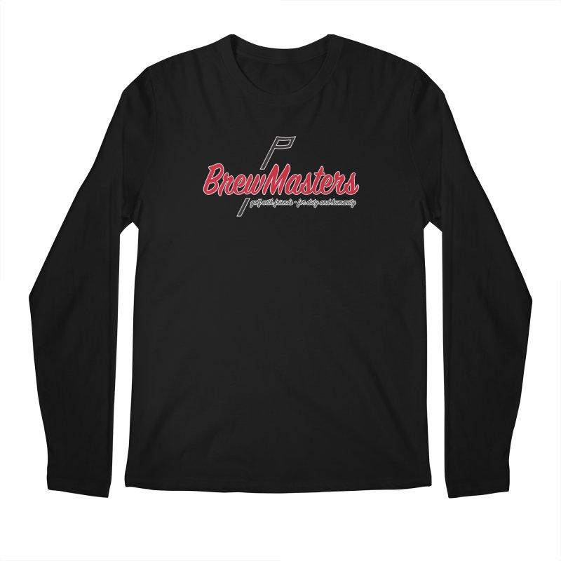 Brewmasters_Golf Men's Regular Longsleeve T-Shirt by Brian Harms