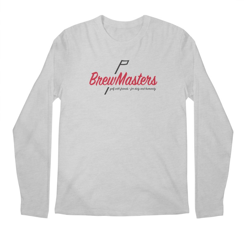 Brewmasters_Golf Men's Regular Longsleeve T-Shirt by Brian Harms