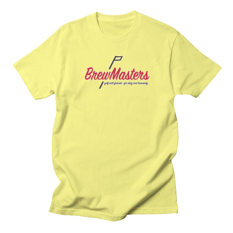 Brewmasters_Golf Women's Regular Unisex T-Shirt by Brian Harms