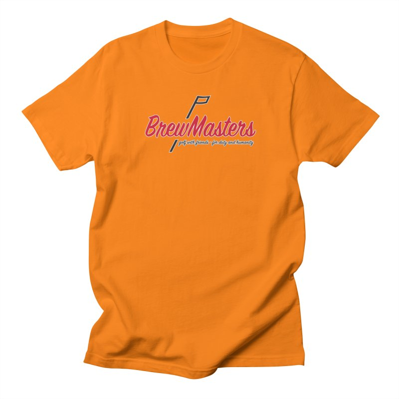 Brewmasters_Golf Men's Regular T-Shirt by Brian Harms