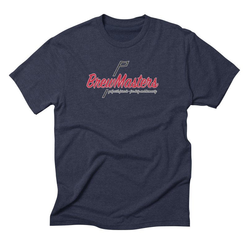 Brewmasters_Golf Men's Triblend T-Shirt by Brian Harms