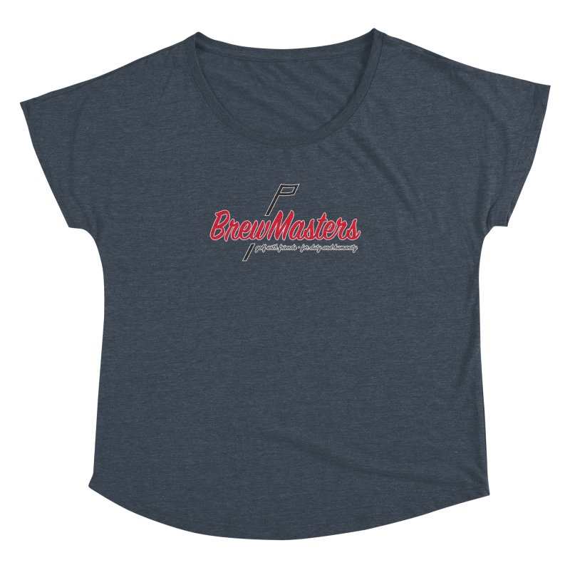 Brewmasters_Golf Women's Dolman Scoop Neck by Brian Harms