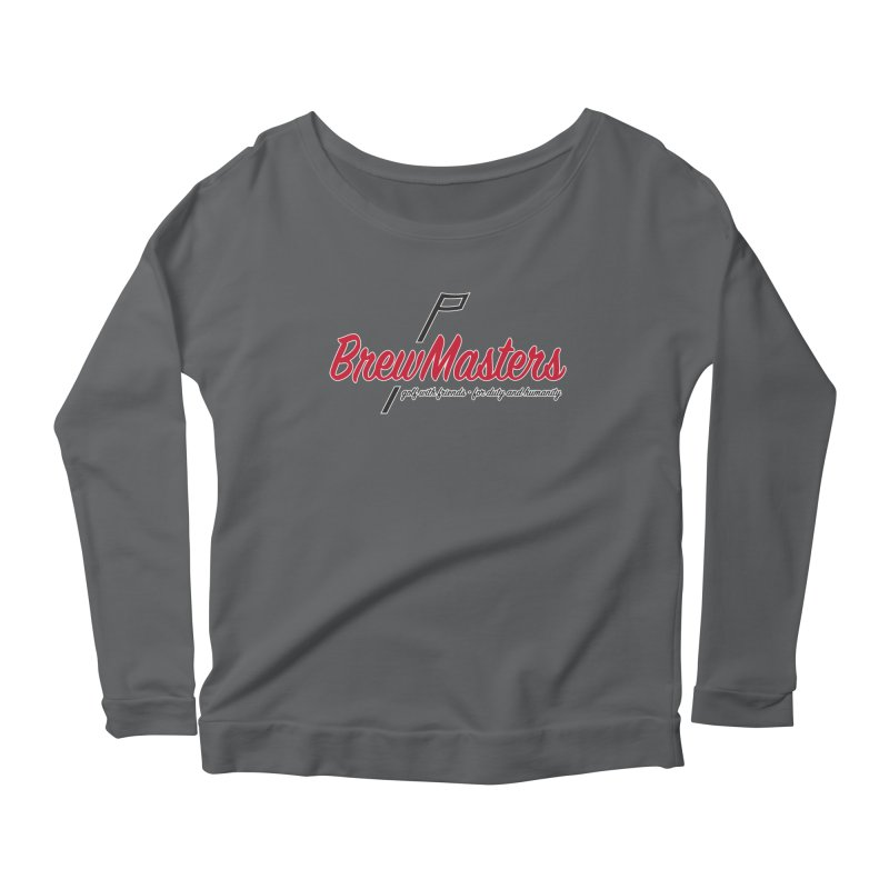 Brewmasters_Golf Women's Scoop Neck Longsleeve T-Shirt by Brian Harms