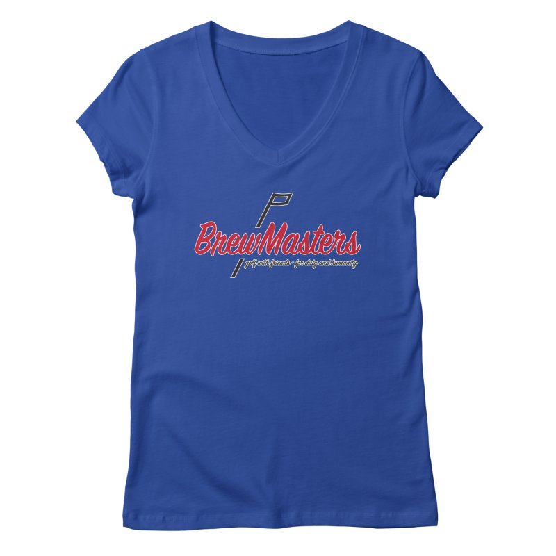 Brewmasters_Golf Women's Regular V-Neck by Brian Harms