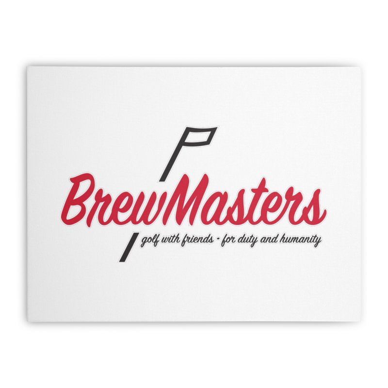 Brewmasters_Golf Home Stretched Canvas by Brian Harms