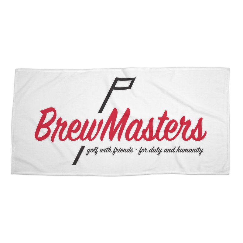Brewmasters_Golf Accessories Beach Towel by Brian Harms