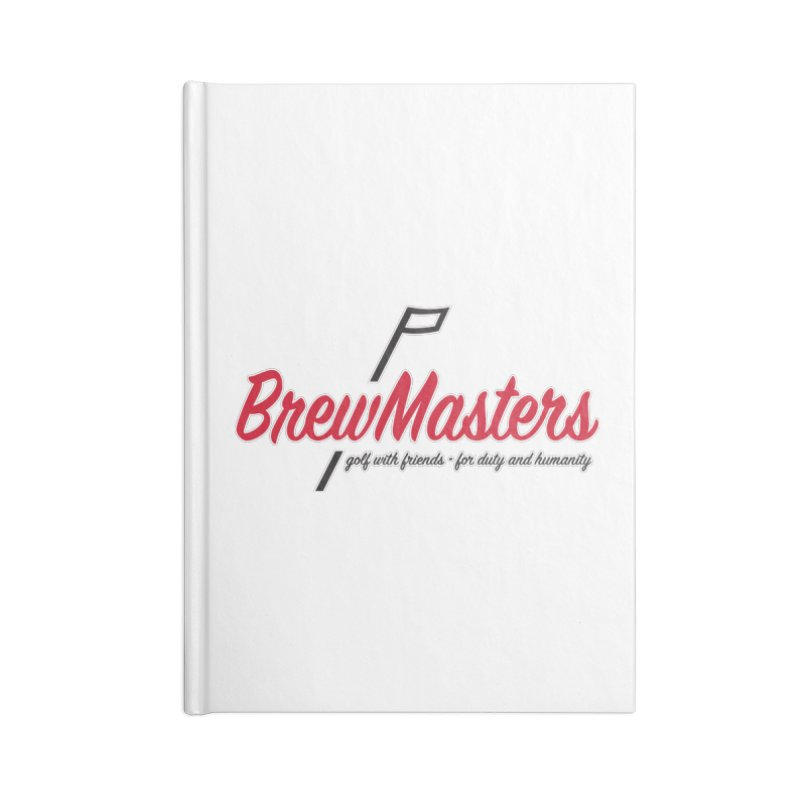 Brewmasters_Golf Accessories Blank Journal Notebook by Brian Harms