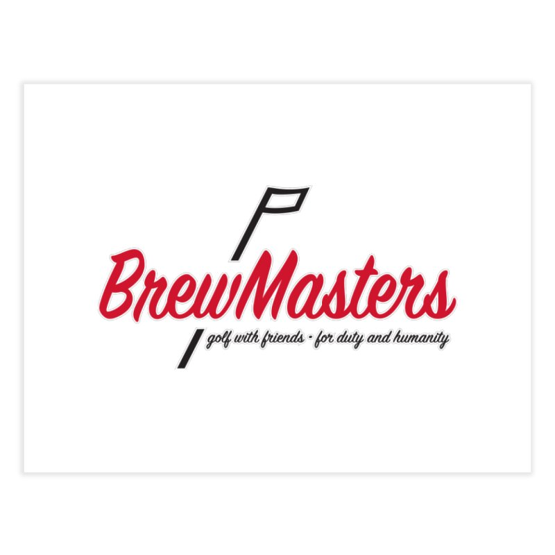 Brewmasters_Golf Home Fine Art Print by Brian Harms