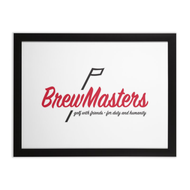 Brewmasters_Golf Home Framed Fine Art Print by Brian Harms
