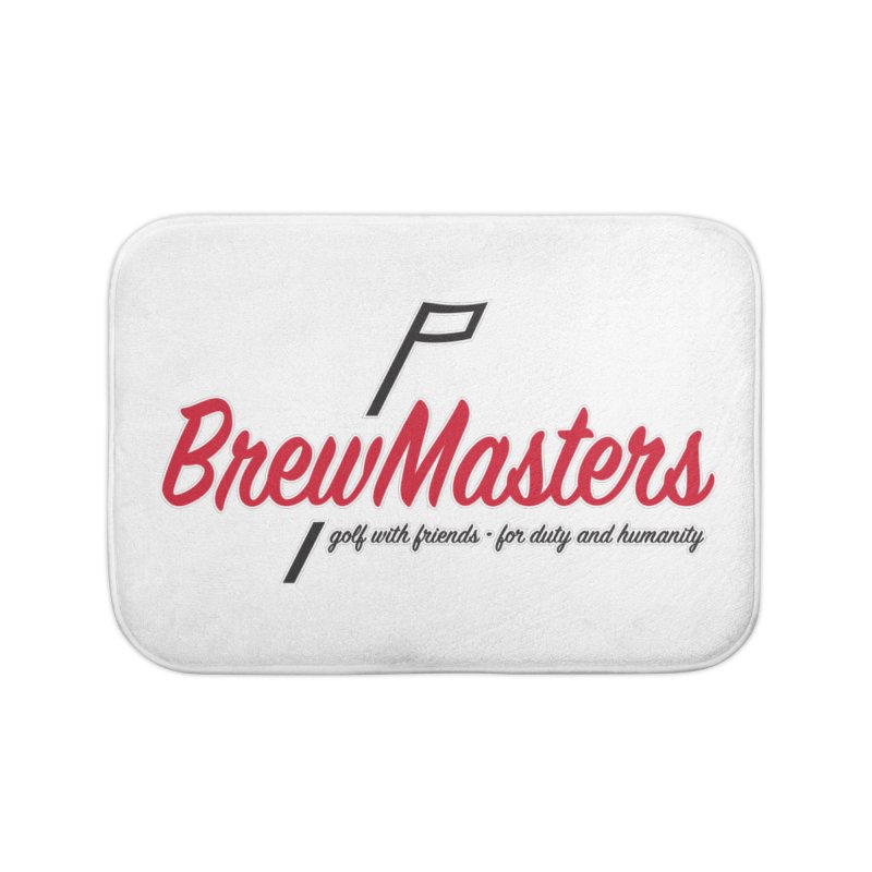 Brewmasters_Golf Home Bath Mat by Brian Harms