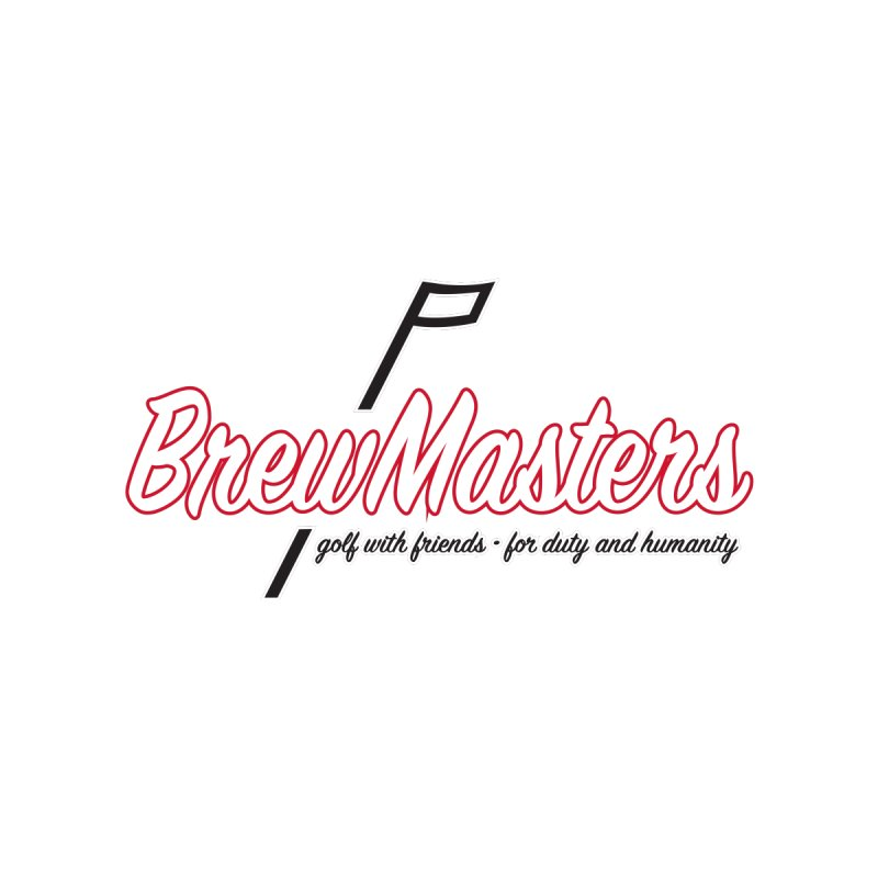 Brewmasters_Golf_REV Men's T-Shirt by Brian Harms