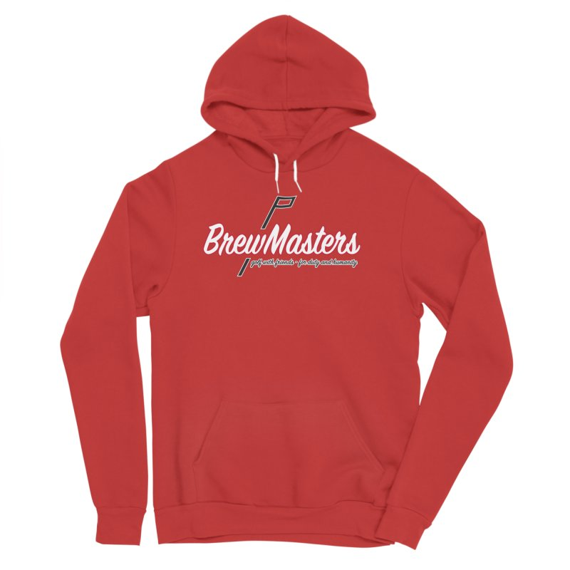 Brewmasters_Golf_REV Men's Sponge Fleece Pullover Hoody by Brian Harms