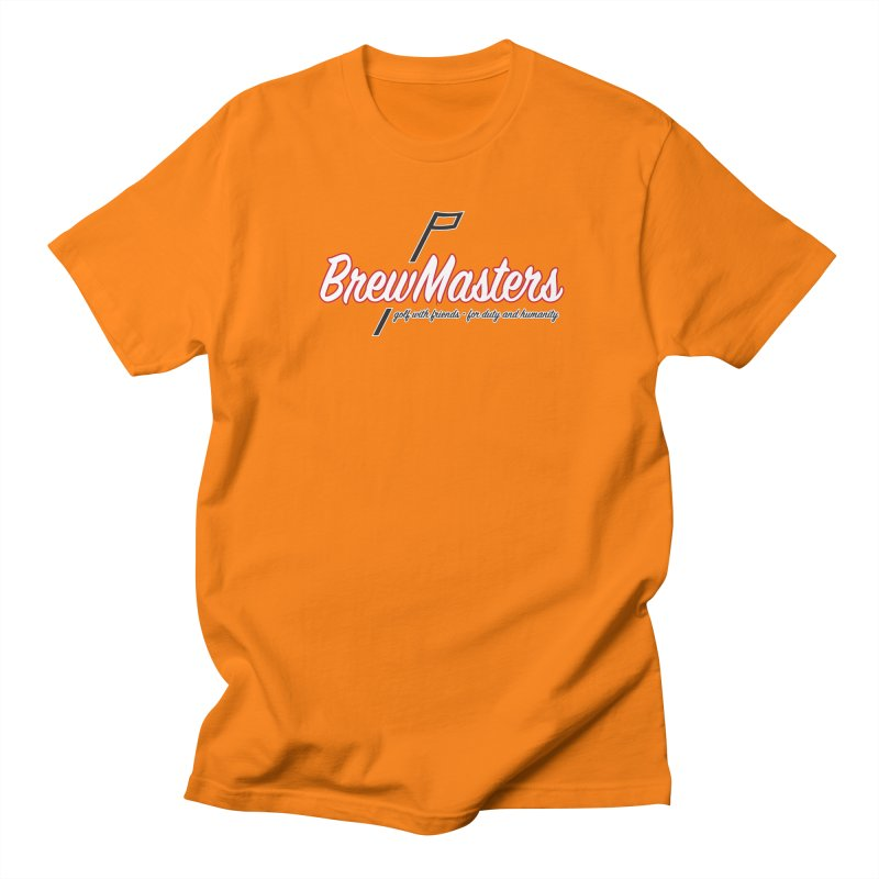 Brewmasters_Golf_REV Women's Regular Unisex T-Shirt by Brian Harms