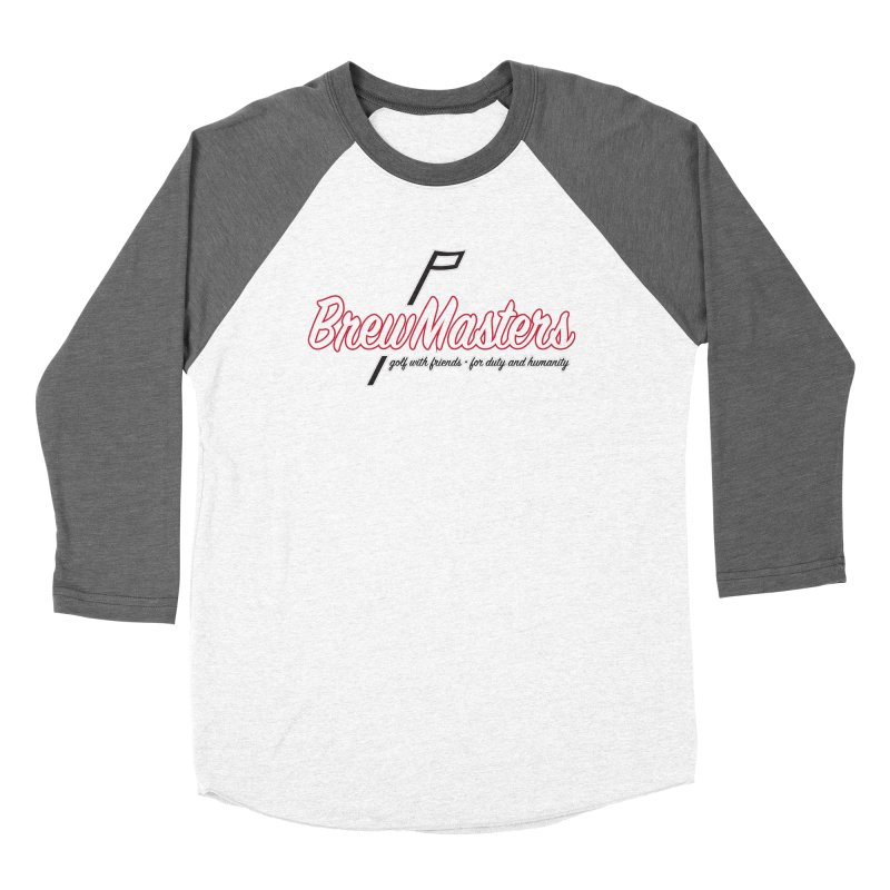 Brewmasters_Golf_REV Women's Baseball Triblend Longsleeve T-Shirt by Brian Harms